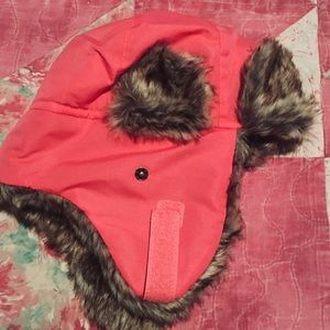 NWOT**Cabela's Faux-Fur Toddler Trapper Hat